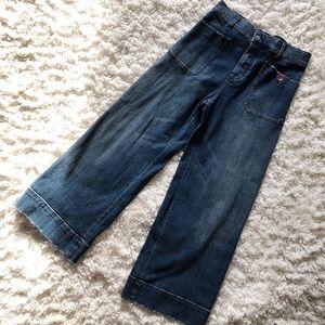 Anthropologie Pilcro High-Rise Wide Leg Jean